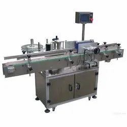 Automatic Flat/Oval/Square Bottles Sticker Labeling Machine