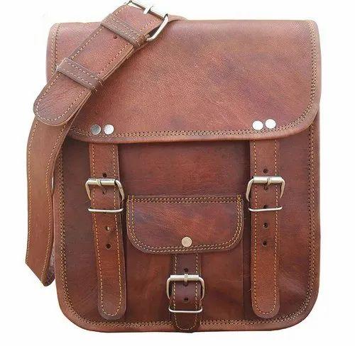 Product Image. Leather Laptop Messenger Bag 777ec1f72ed1d