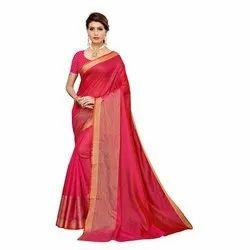 Beautiful Design  Art Silk Saree