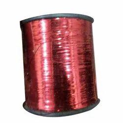 Red Nylon Zari Thread