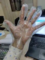 Plastic Gloves (Free Size)