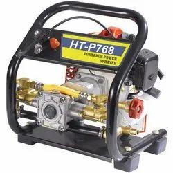 Heavy Aluminium Pump Petrol HTP768 Portable Sprayer, Packaging Type: Box Packing, Model Name/Number: HTP -768