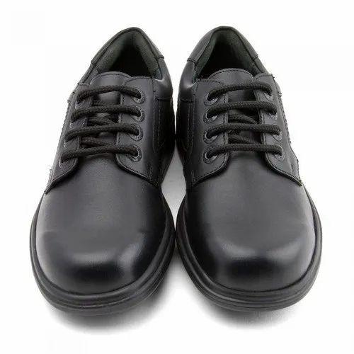 Formal Black Boys School Shoes, Rs 110