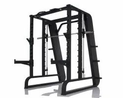 Commercial Smith Machine with Squat Rack