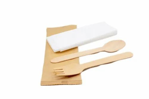 Wooden Cutlery Pouch