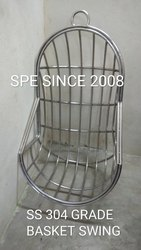 Stainless Steel, Basket Swing Without Cushion