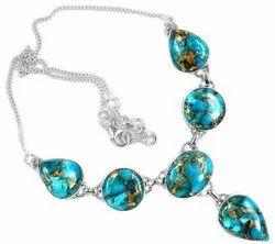 92.5 Blue Turquoise Pendants