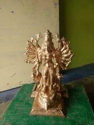 Durga Devi Idol Panchaloham 12 Inch