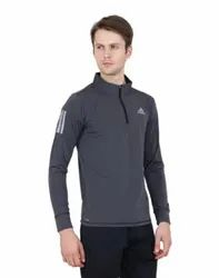Plain Adidas 4way lycra Sports Full Sleeve T Shirt