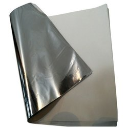 Silver Coated Paper Sheet
