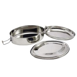 Oval Shape Tiffin