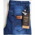 Denim Button Wrangler Men Jeans, Waist Size: 32