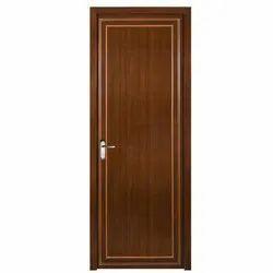 Glossy PVC Bathroom Door, Design/Pattern: Plain