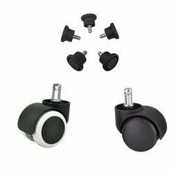 iCrystal Black Chair Fitting Parts for Commercial, Size: 24