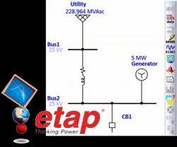 ETAP Based Short Circuit Analysis/Relay Co-ordination/Arc Flash Analysis