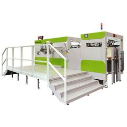 Flatbed Die Cutting Creasing and Stripping Machine