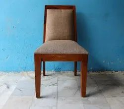 Indian Brown Sheesham Wood Dining Chair, For Restaurant, Set Size: Single