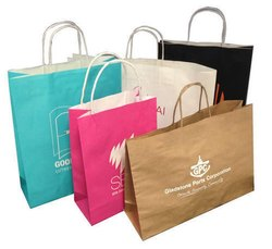 Printed Color Shopping Paper Bag