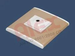 Alex Plastic Module Base Plate with Cover Plate