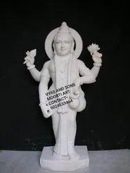 Ek Mukhi Dattatreya Marble Statue