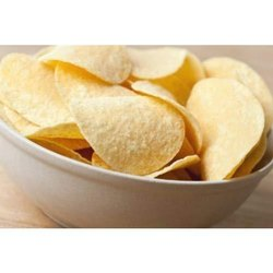 Baked salted chips