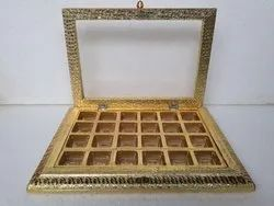 Jagruti Handicraft Festival Handcrafted Wooden Chocolate Box, Size: 13.5*10 Inch, for Chocolate Packaging