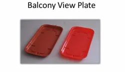 Balcony View Plate