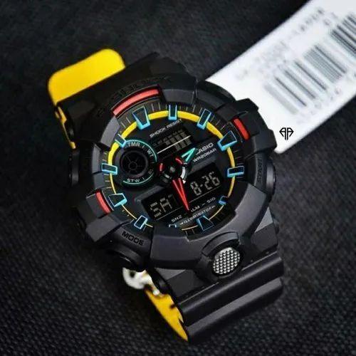 Black N Yellow Resin G Shock Watch Online Shoppiee Id