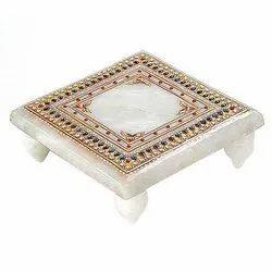 Handicrafts Marble Chowki