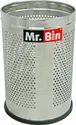 SS Full Perforated Round Dustbin