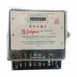 Jaipur Electronics 3 Phase Electric Meter, 240V