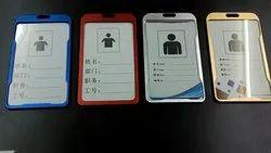 Aluminium Metal ID Card Holder