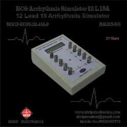 ECG Simulator with LCD Display