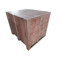 Rectangular Hard Wood Wooden Pallet Box, For Packaging, Capacity: 500-1000 Kg