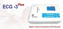 Digital 3 Channel Interpretive ECG Recorder