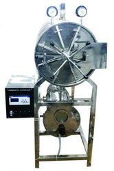Horizontal Cylindrical Triple Walled High Pressure Autoclave