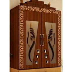 Brown Teak Wood Wooden Temple