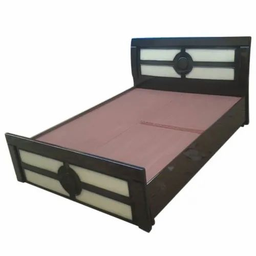 Storage Wooden Double Bed