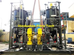 FRP Skid Mounted Chemical Dosing System