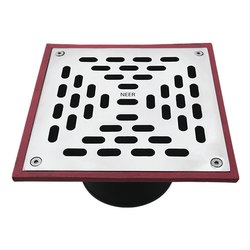 Square Parking Floor Drain