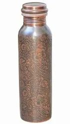 Antique Copper Bottle