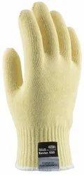 Yellow Kevlar Yarn Combat CutPro Hand Gloves, For Industrial, Size: Large