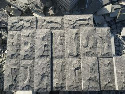 Gray Basalt Stone Cladding, For Wall, Packaging Type: Box