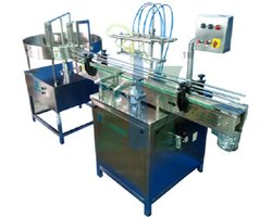 HDPE Bottle Air Jet And Vacuum Cleaning Machine