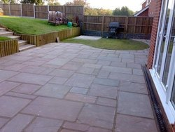 Brown Indian Sandstone Paving