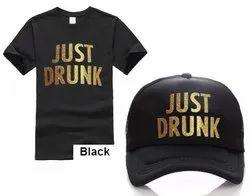 Vinyl Printing On T Shirt & Cap For Gifting