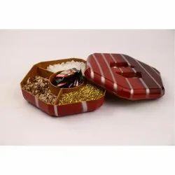 Badam Pista Wooden Dryfruit Box
