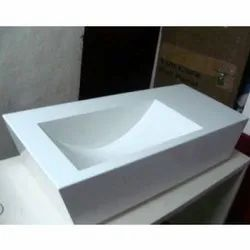 Corian Solid Surface Wash Basin / Vanity
