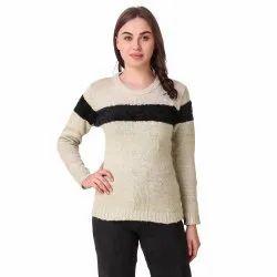 Woolen Striped Top