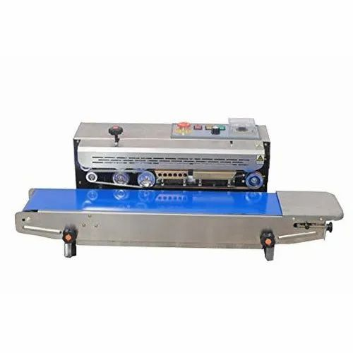Kalika Packaging Mild Steel Electric Horizontal Band Sealing Machine